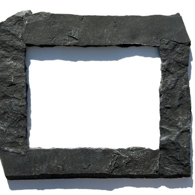 11x14 black rock picture frame