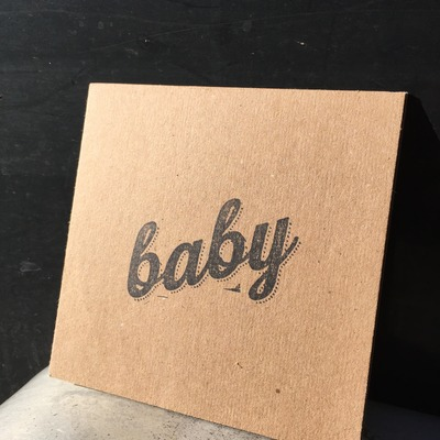 Born without bones - baby (cd)