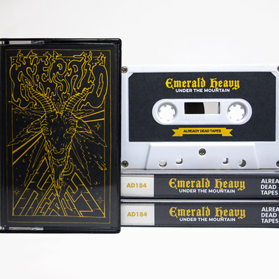 Emerald heavy 'under the mountain' cassette (ad184)