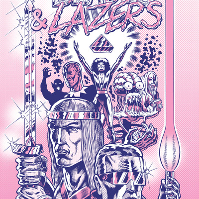 Blades & lazers collected edition