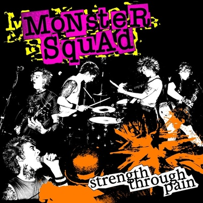 "Monster squad: ""strength through pain"" deluxe vinyl(import)(shipping now)"