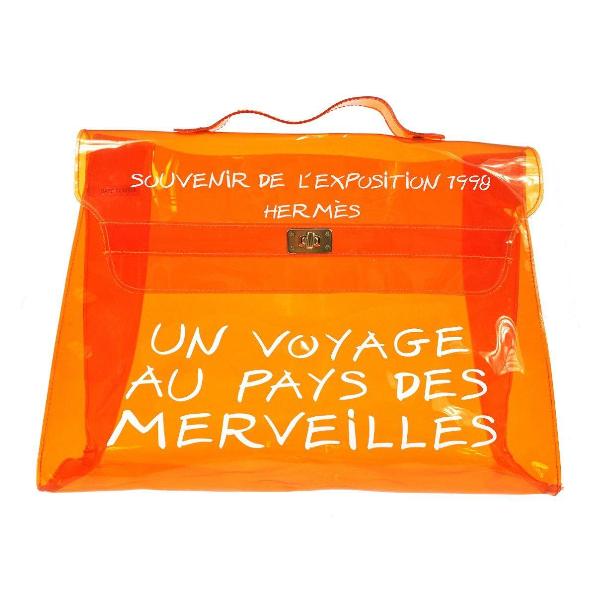 Authentic Limited Edition Hermes Kelly Vinyl \u0026quot; Souvenir De L ...