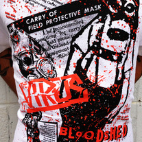 The Virus - Horror Bloodshed War Shirt medium photo
