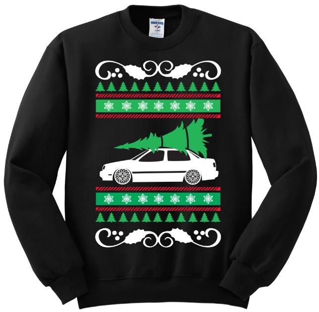VW Jetta mk3 Ugly Christmas Sweater · Vinyl Guru · Online Store ...