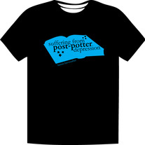 Post-Potter Depression Shirt (Blue)