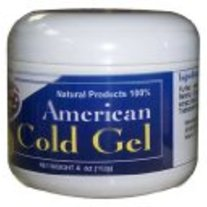 American Cold Gel (Blue Label) 4 oz Excessive Body Fat Burner by American Natural