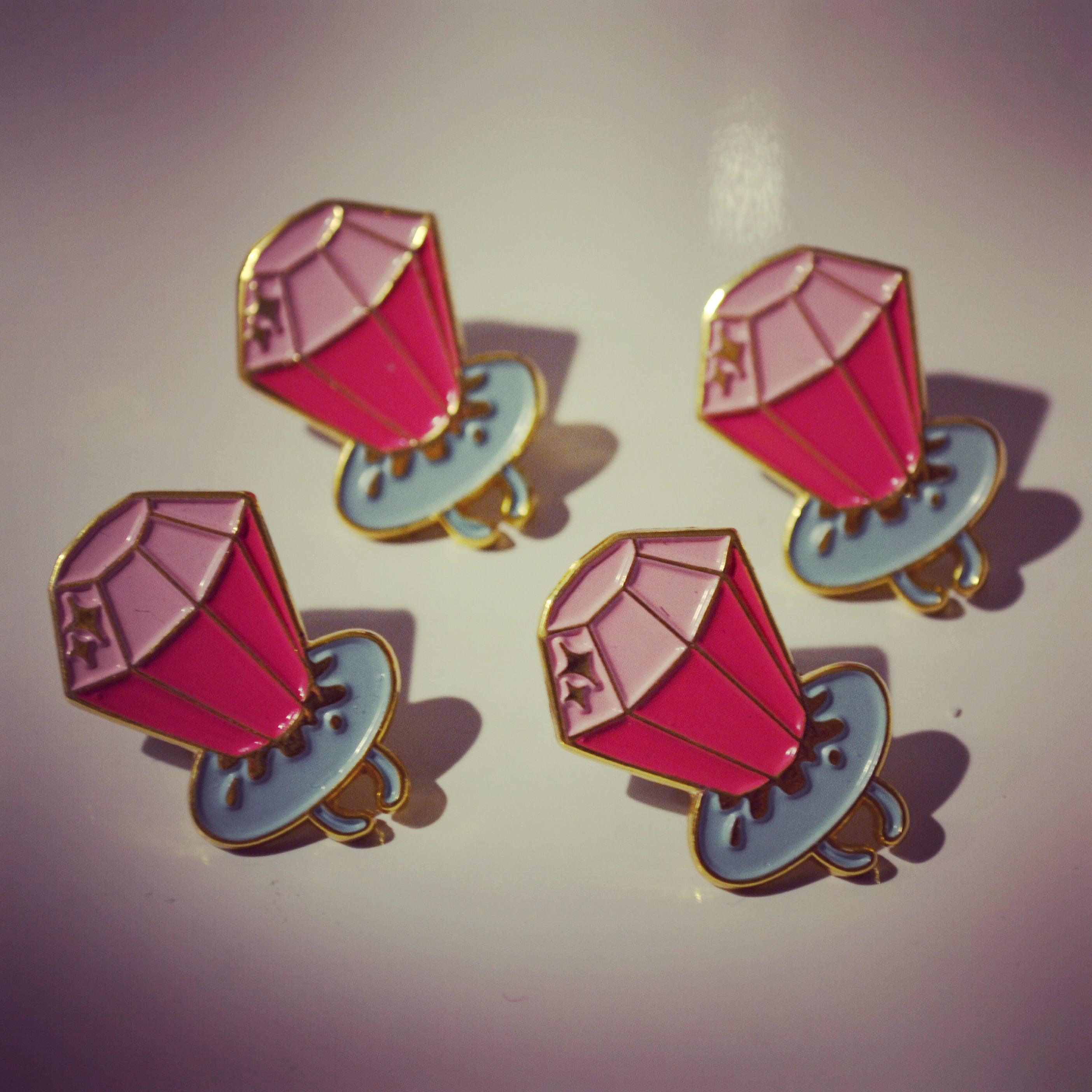 f228b9e596 Ringpop Pin · Sick Girls · Online Store Powered by Storenvy