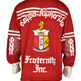 Kappa Alpha Psi Ol' Skool Cardigan Sweater - Thumbnail 1