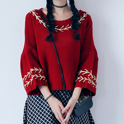 4 colors mori girl knitted sweater sp154143