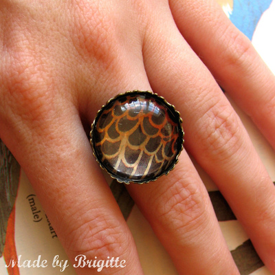Nature girl bird ring 5