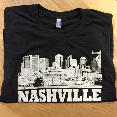 Nashville skyline (black) - 40% off!