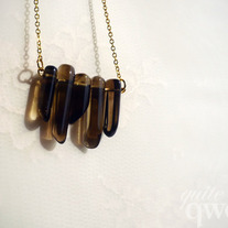 Icicles - Smoky Quartz Necklace