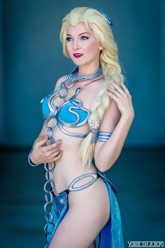 Slave Leia Elsa Cosplay