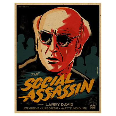 Social assassin - print