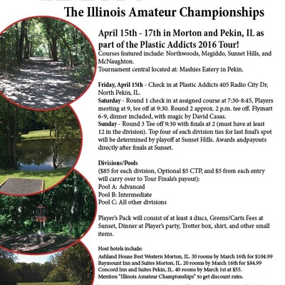 Discraft presents: the 2016 illinois amateur championships