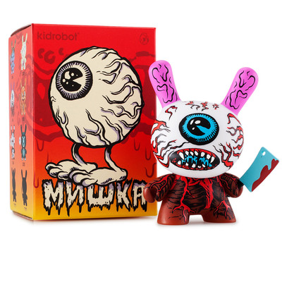 Mishka 3-inch dunny series case of 20 figures by kidrobot