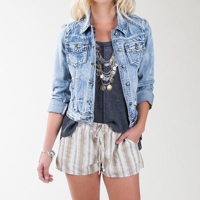 Ciggy denim jacket by white crow