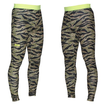 Eds by ehoto dry-tech unisex compression leggings - tiger camo