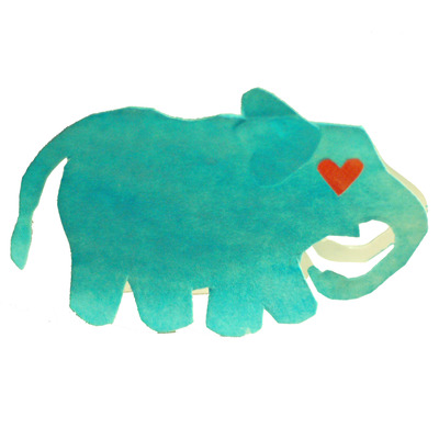 Recycled Paper Plates. Elephant in love  sc 1 st  Hippo Cards - Storenvy & Recycled Paper Plates · Hippo Cards · Online Store Powered by Storenvy