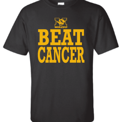 Mizzou beat cancer t-shirt