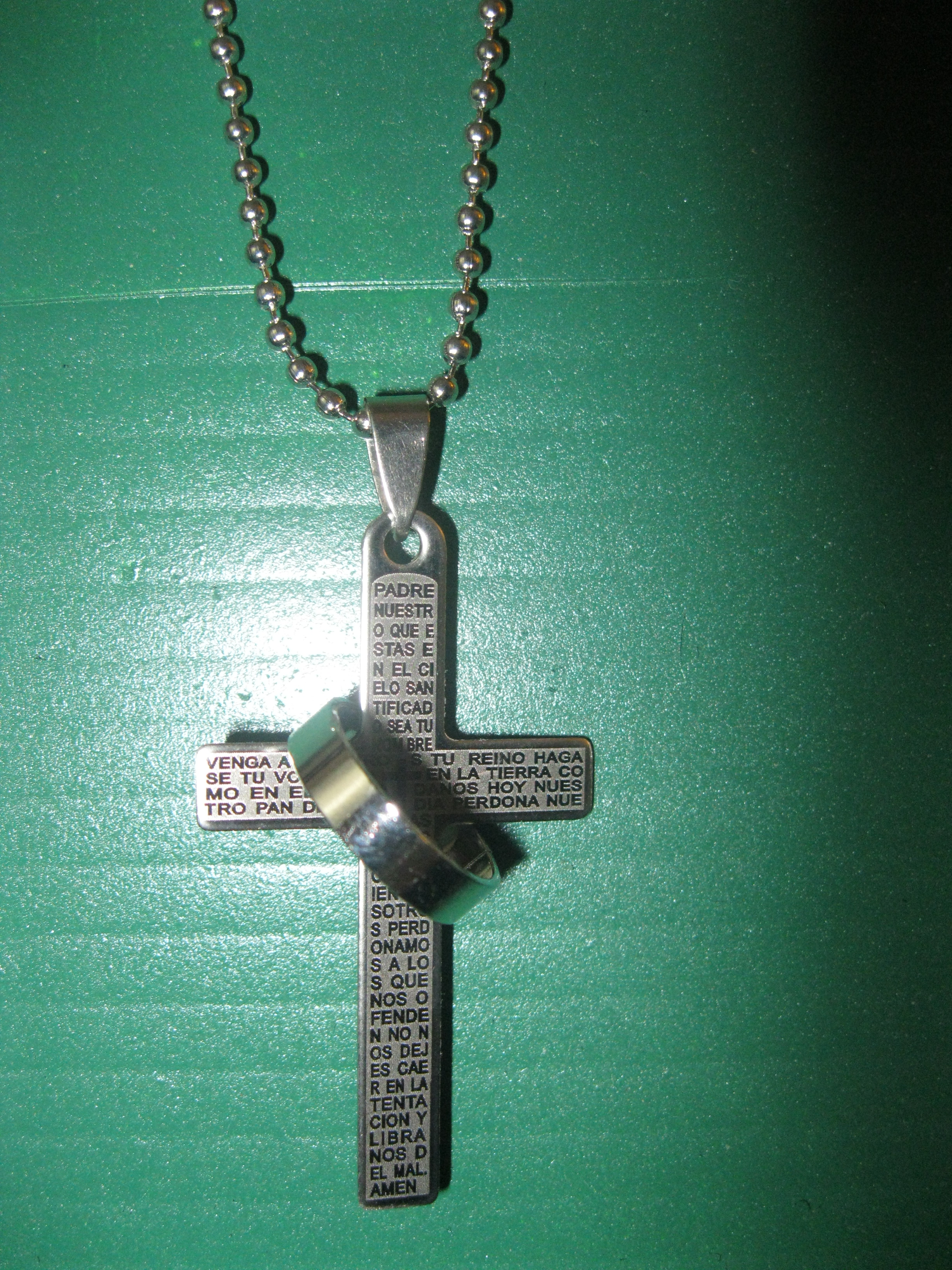 necklace products the prayer jewelry me pendant serenity religious faith grant god biblical heart