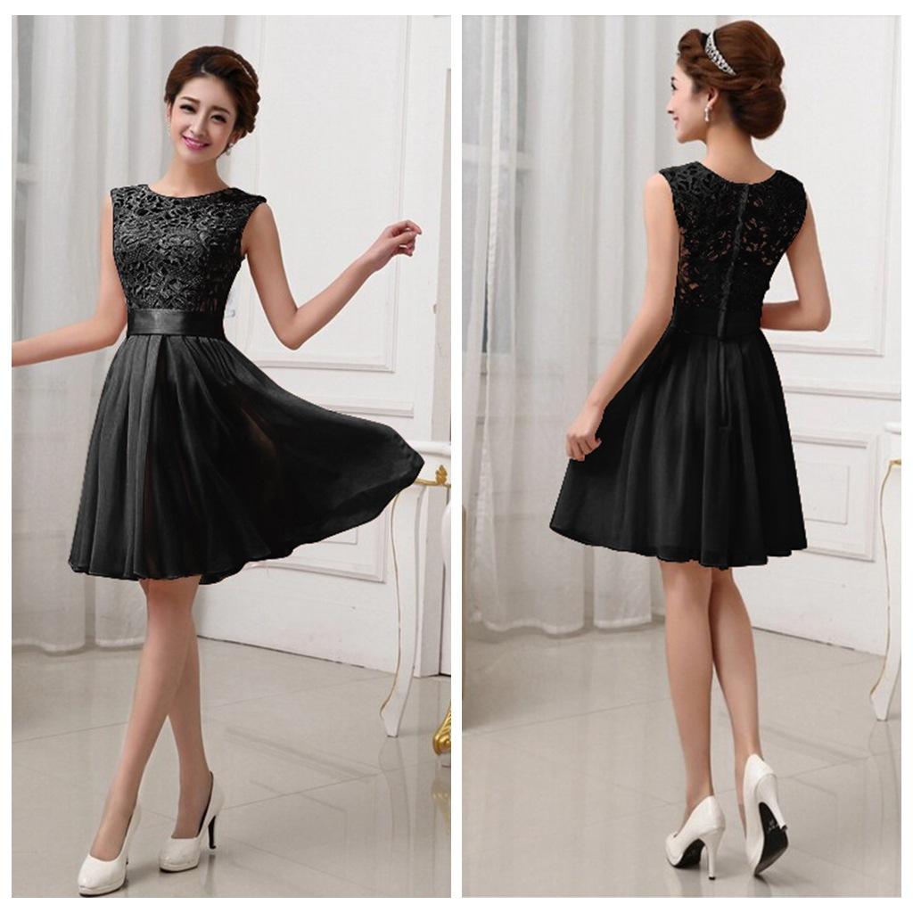 Lace bridesmaid dresses short bridesmaid dresses chiffon