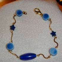 """I've got the Blues"" Bracelet (8 inch)"