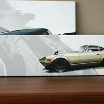 240z Fairlady - small canvas print