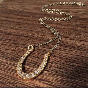 Horseshoe Western Necklace