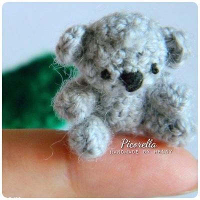 Amigurumi Koala Keychain : Amigurumi Koala, Miniature Koala, Crochet Koala, Koala ...