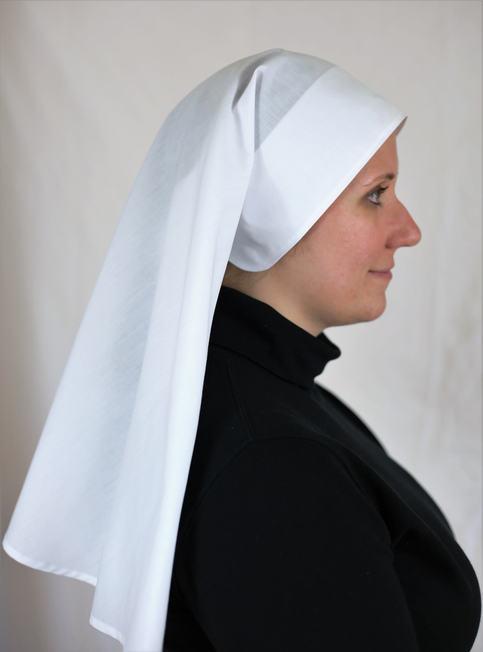 24 Inch White Nun Veil Catholic Habit On Storenvy