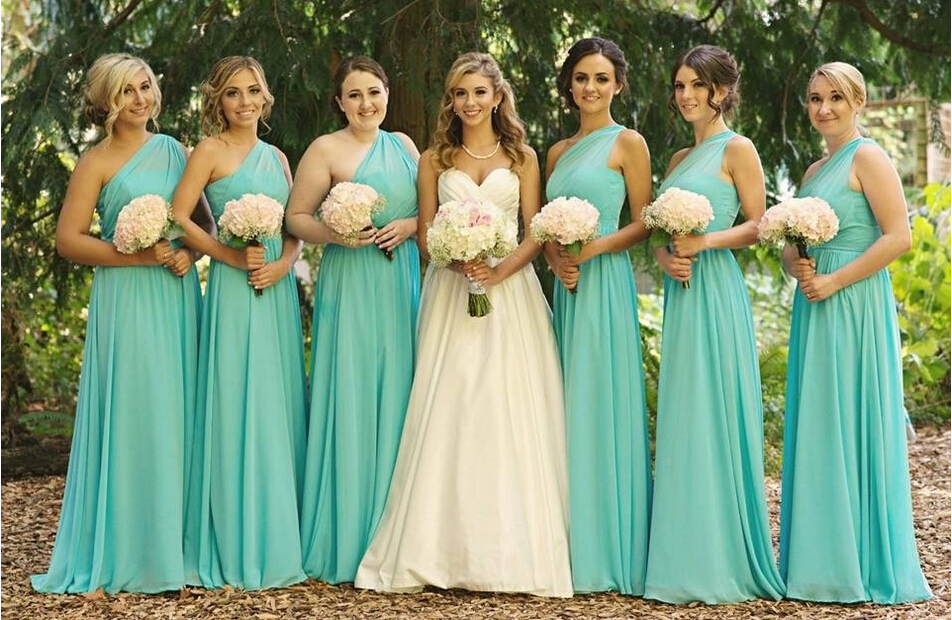 Bridesmaid Dress, Long Bridesmaid Dress, Jersey Bridesmaid Dress ...
