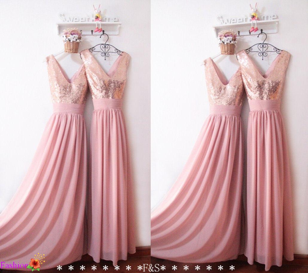 Prom Dresses 2016,Sexy Sequin Prom Dress,Custom Bridesmaid Dress ...