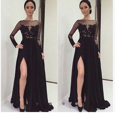 Black Prom Dresses for Teens
