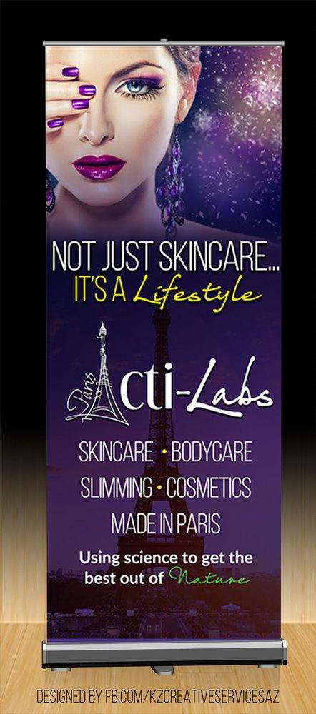 Acti Labs Premium Retractable Banner Style 2 183 Kz Creative