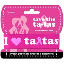 Save the Tatas Bracelet - Pink