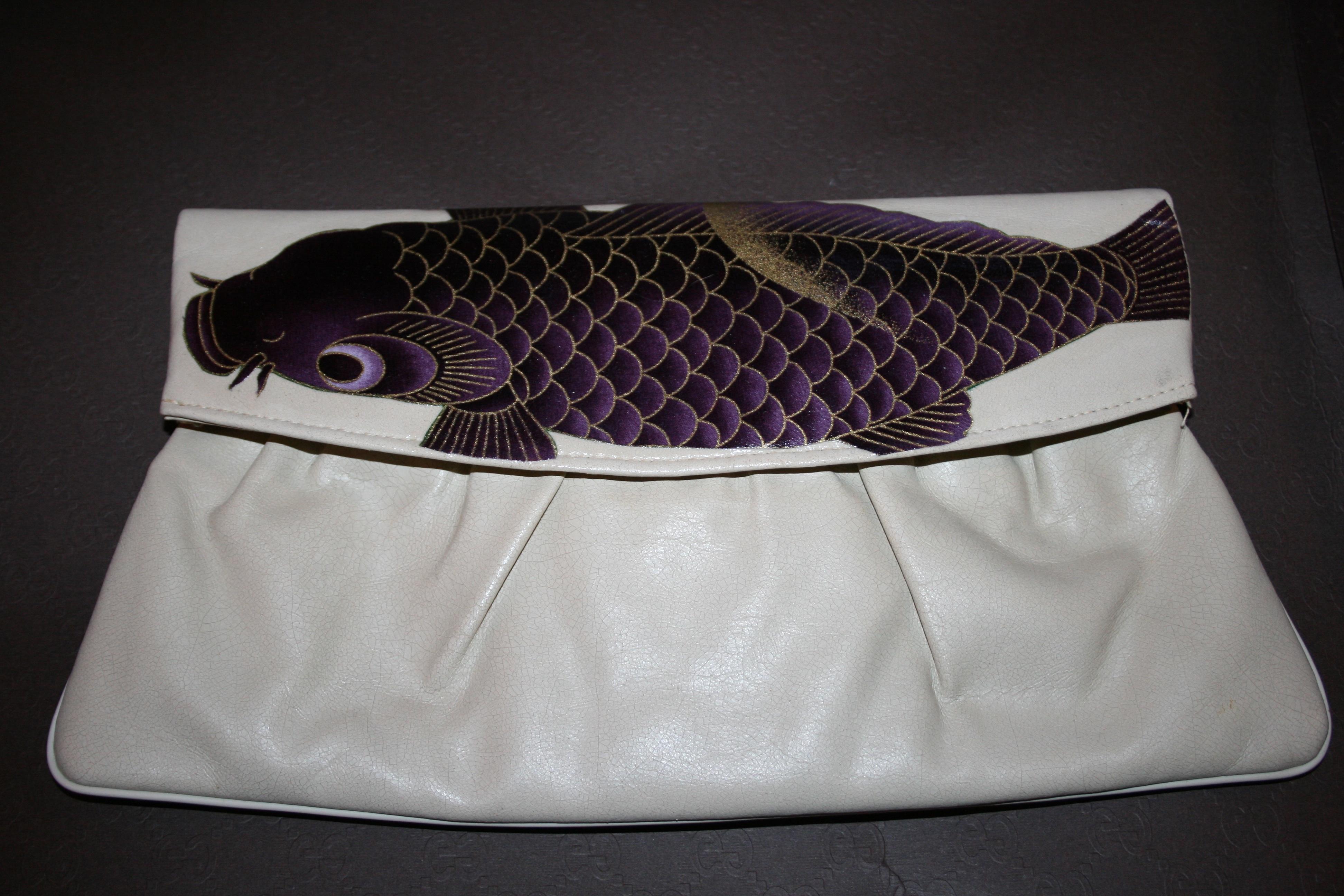 Casa de gitana koi fish vintage purse online store for Koi fish purse