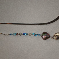 Beaded Bookmark Blue/Be Yourself