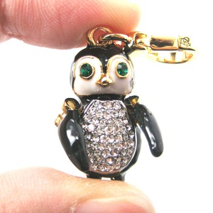 Limited Edition Jewelry - Adorable Penguin Shaped Animal Pendant Necklace