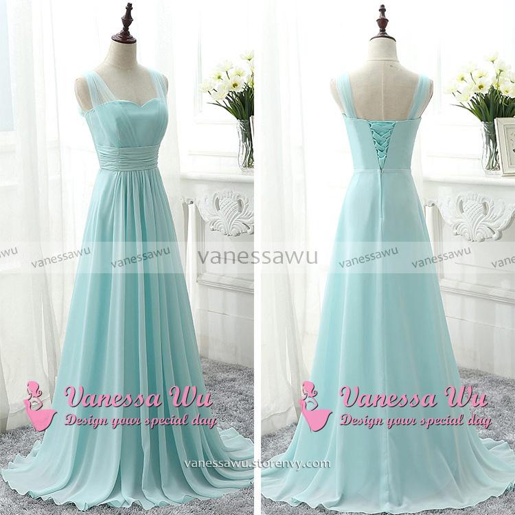 Sweetheart Bridesmaid Dress with Belt, Modern Chiffon Bridesmaid ...
