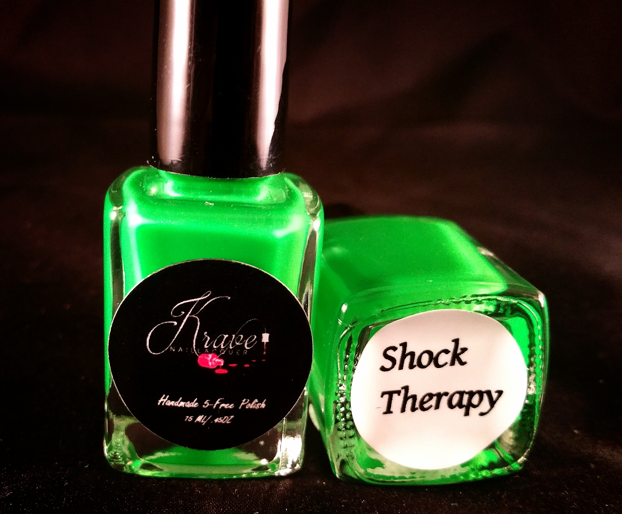 Shock Therapy Neon Nail Polish · Krave Spa Essentials · Online Store ...