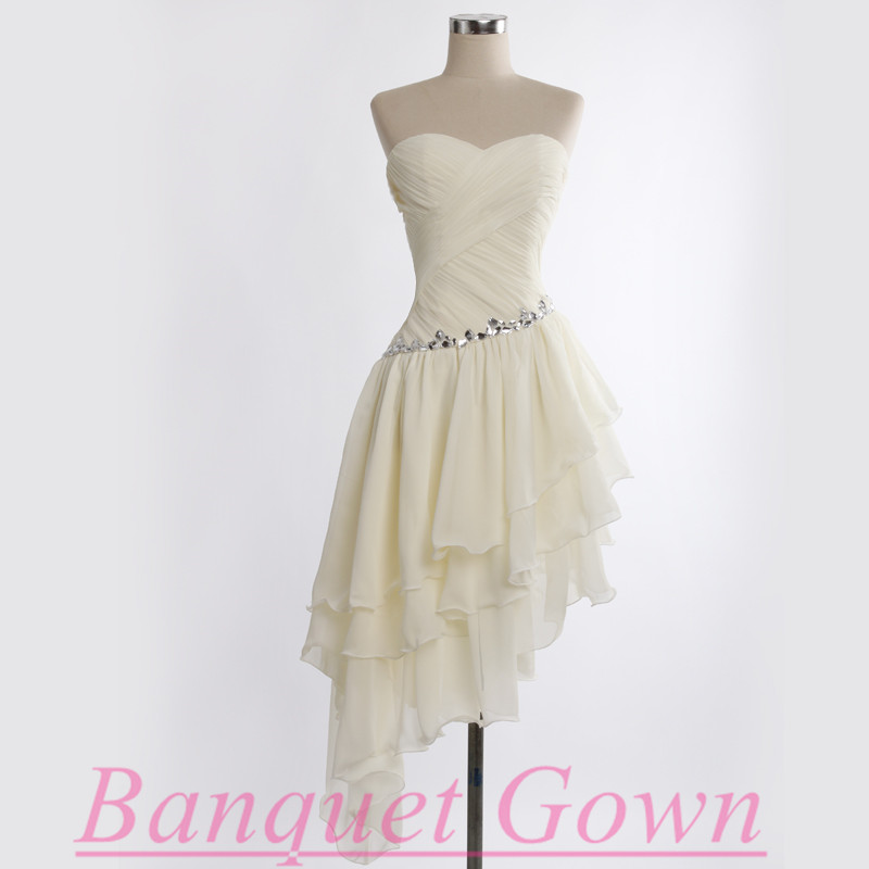 High Low Homecoming Dresses,Cute Prom Gown,Lovely Homecoming Dresses ...