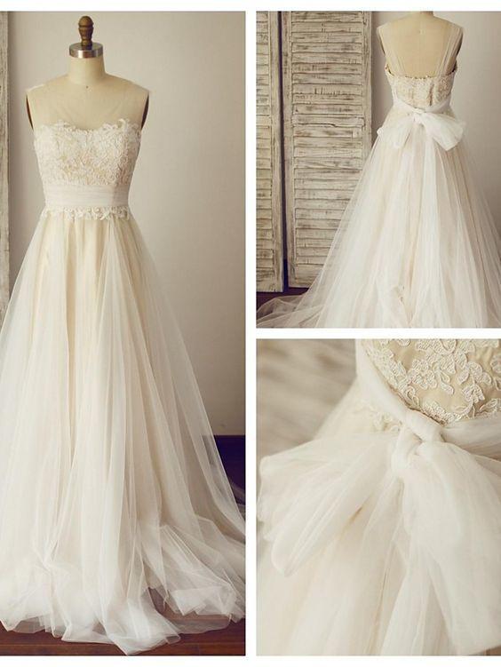 Wedding dresses,lace wedding dresses,a-line princess bridal gown ...