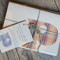 Plaid Monogram