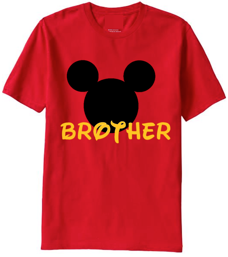 Personalized Disney Family T Shirts Set Of 6 Add Name