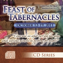 Feast of Tabernacles 2011 CD Set