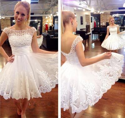 White Prom Dresses for Juniors