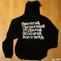 Railcars Hooded