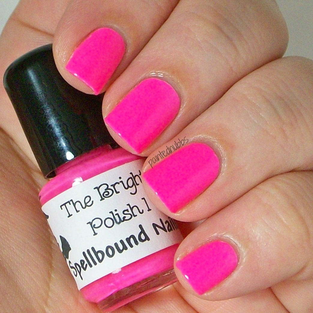 Barbie Pink Drink - Neon Pink Nail Polish · Spellbound Nails ...