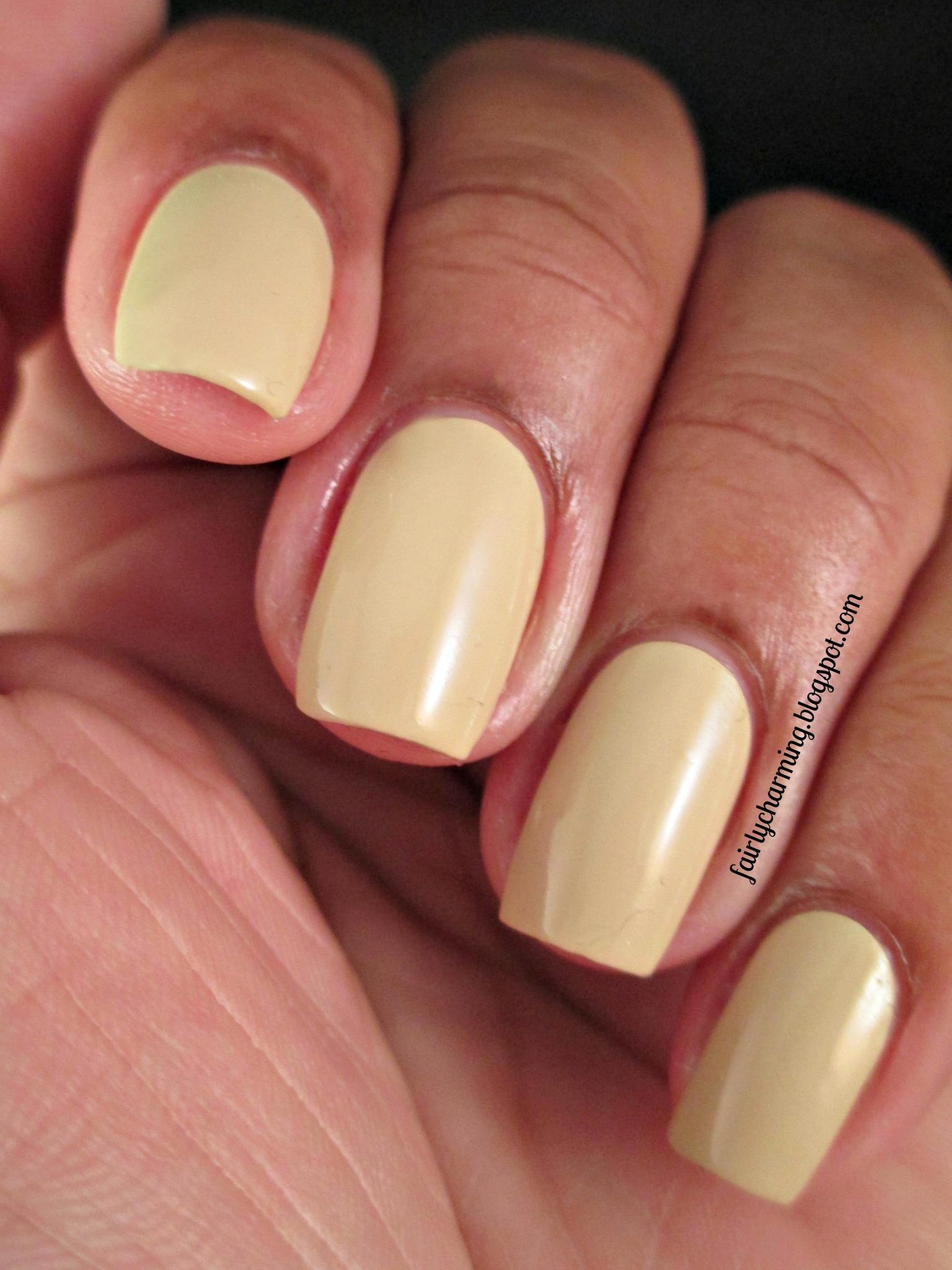San Pedro Morning - Khaki Yellow Creme Nail Polish · Spellbound ...